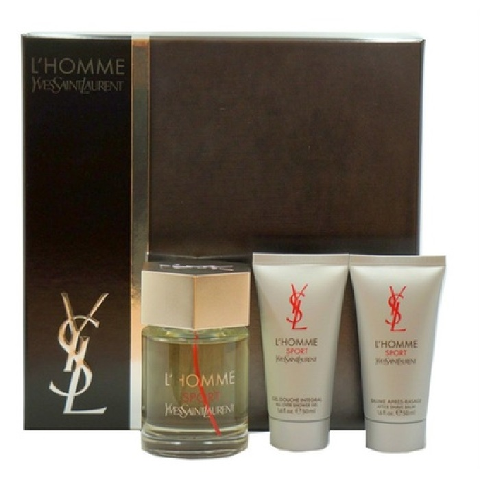 YSL L'homme Sport 3 Pieces Gift Sets for men