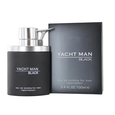Yacht Man Black Cologne by Myrurgia 3.4oz Eau De Toilette spray for Men