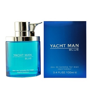 Yacht Man Blue Cologne by Myrurgia 3.4oz Eau De Toilette spray for Men