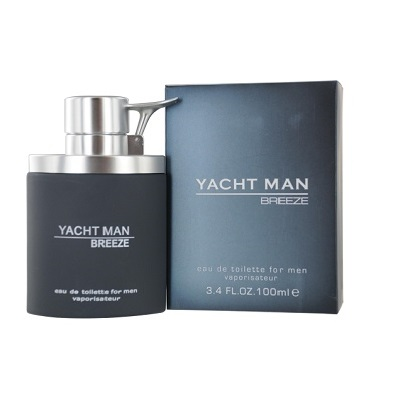 Yacht Man Breeze Cologne by Myrurgia 3.4oz Eau De Toilette spray for Men