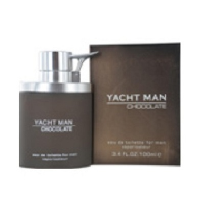 Yacht Man Chocolate Cologne by Myrurgia 3.4oz Eau De Toilette spray for Men
