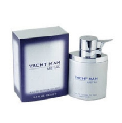 Yacht Man Metal Cologne by Myrurgia 3.4oz Eau De Toilette spray for Men
