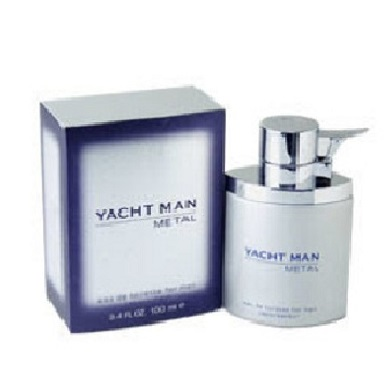 Yacht Man Metal Cologne