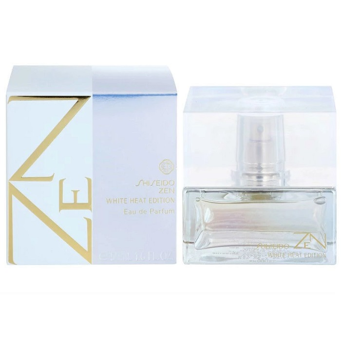 Zen White Heat Perfume by Shiseido 1.6oz Eau De Parfum Spray for women