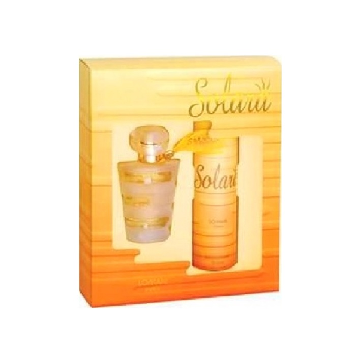 Solytis Perfume Gift Set for women - 2.0oz Eau De Parfum spray, & 5.0oz Deodorant spray