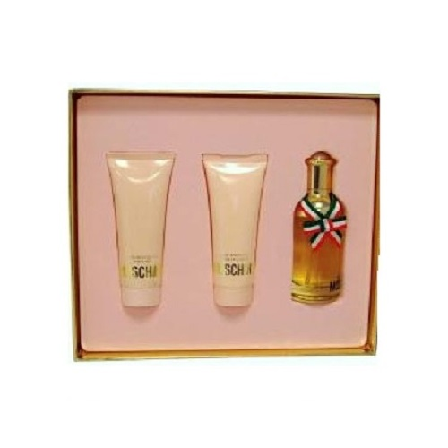 Moschino Perfume Gift Set for Women - 1.2oz eau de toilette spray, 1.7oz body lotion and 1.7oz shower gel