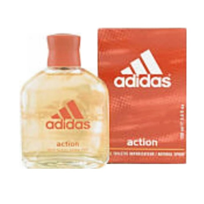 Adidas Action Cologne by Adidas 3.4oz Eau De Toilette Spray for men