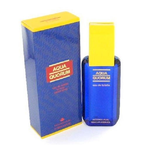 Aqua Quorum Cologne by Antonio Puig 3.4oz Eau De Toilette spray for Men