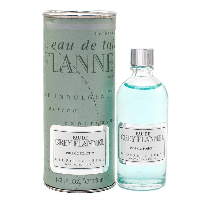 Eau de Grey Flannel Cologne by Geoffrey Beene 0.5oz / 15ml Eau De Toilette for Men