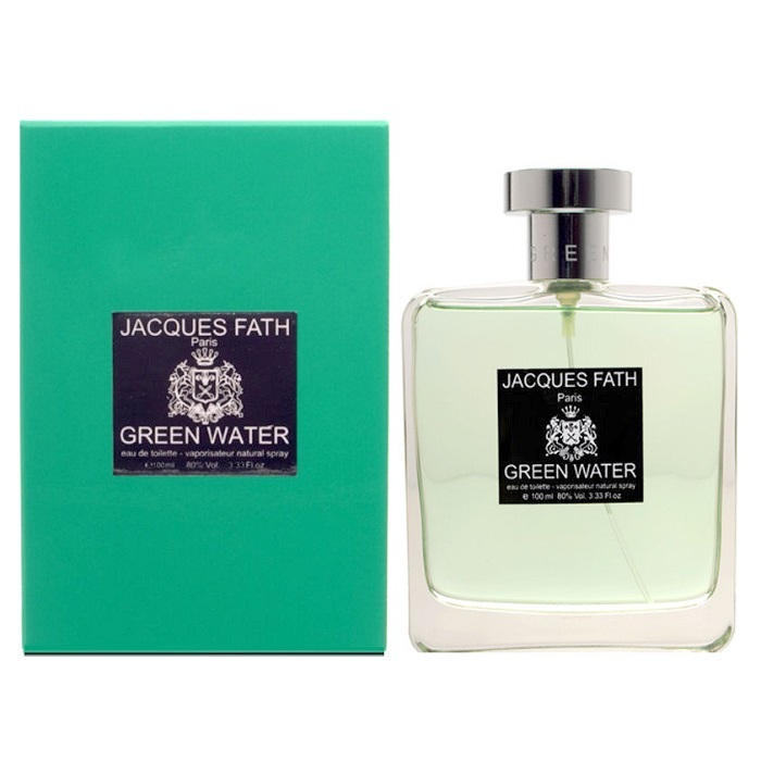 Green Water Cologne by Jacques Fath 3.33oz Eau De Toilette Spray for men