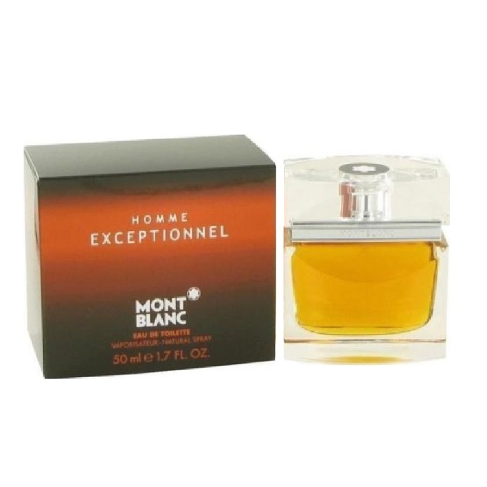 Homme Exceptionnel Cologne by Mont Blanc 1.7oz Eau De Toilette spray for Men