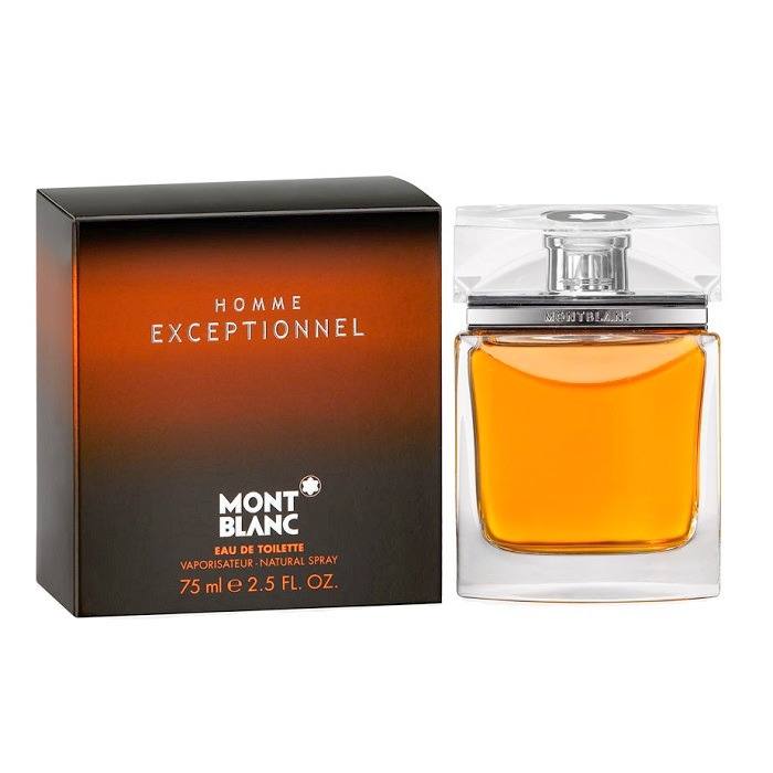 Homme Exceptionnel Cologne by Mont Blanc 2.5oz Eau De Toilette spray for Men