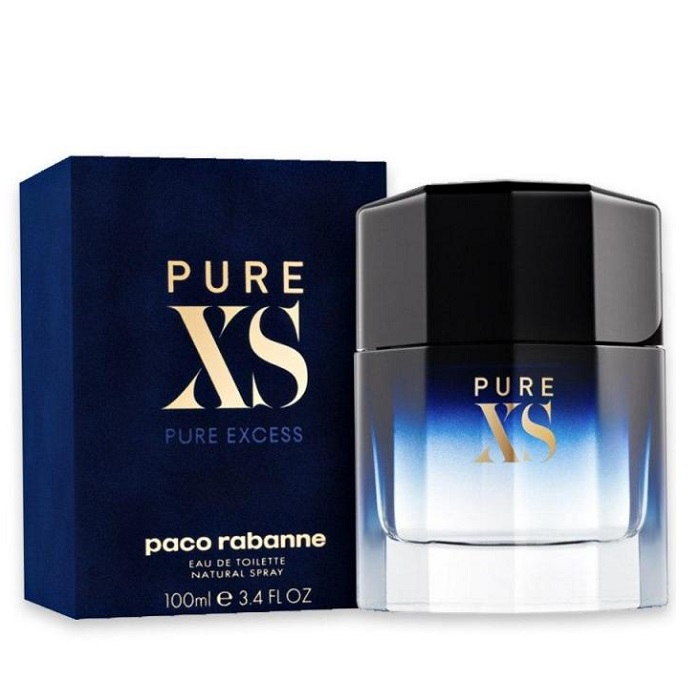 Pure Xs Cologne by Paco Rabanne 3.4oz Eau De Toilette Spray for men