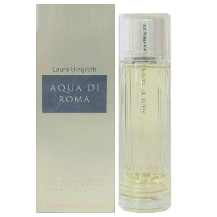 Aqua Di Roma Perfume by Laura Biagiotti 3.4oz Eau De Toilette Spray for women