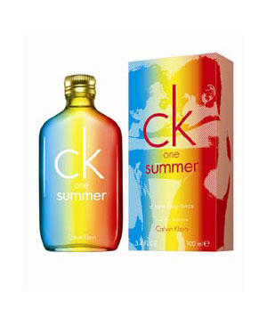 CK one Summer 2011 Perfume by Calvin Klein 3.4oz Eau De Toilette spray (unisex)