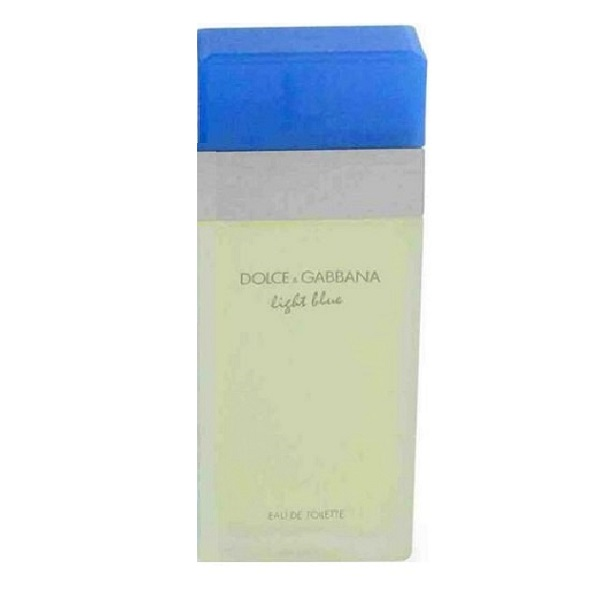 Light Blue Tester Perfume by Dolce & Gabbana 3.4oz Eau De Toilette spray for Women