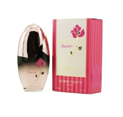 Rose Noire Secret Perfume by Giorgio Valenti 3.4oz Parfum De Toilette spray for Women