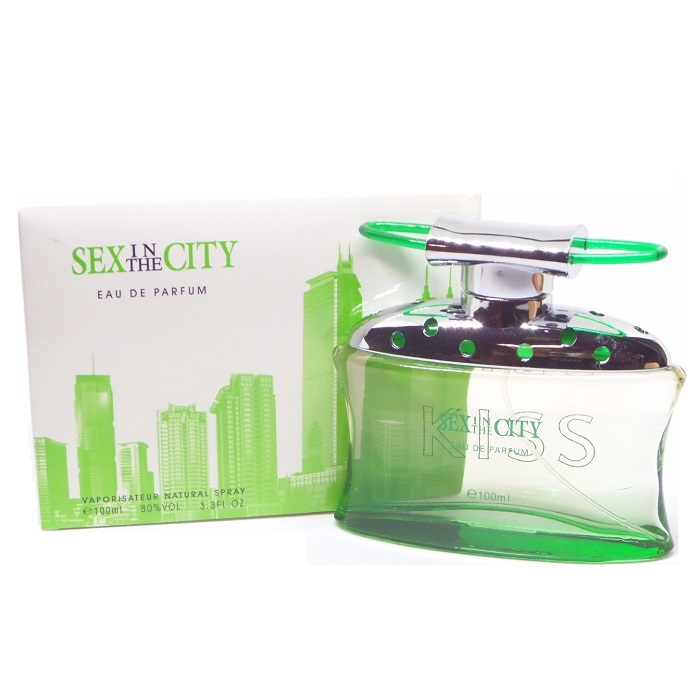 Sex in the City Kiss Perfume by Instyle 3.4oz Eau De Perfume Spray for women