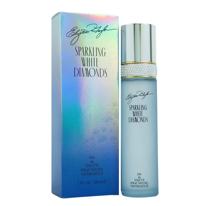 Sparkling White Diamonds Perfume by Elizabeth Taylor 3.3oz Eau De Toilette spray for Women