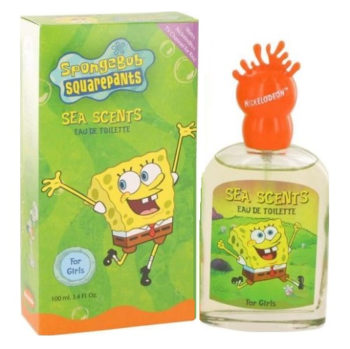Spongebob Squarepants Perfume by Nickelodeon 3.4oz Eau De Toilette spray for kid