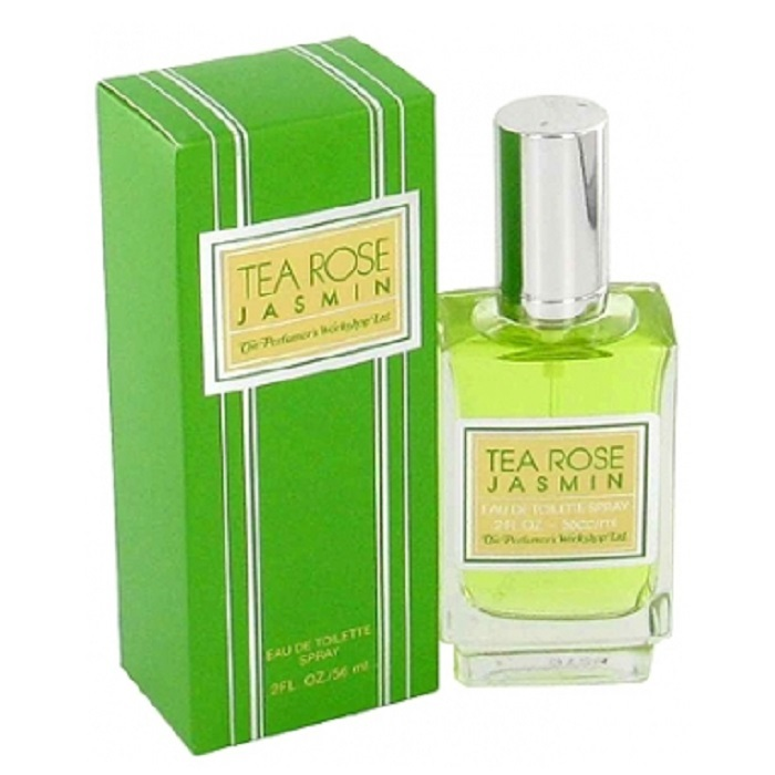 Tea Rose Jasmine Perfume by Perfumers Workshop 2.0oz Eau De Toilette spray for Women