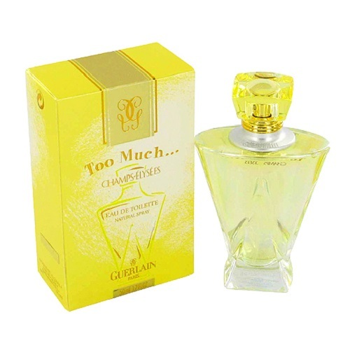 Too Much Champs Elysees Perfume by Guerlain 3.4oz Body Dew spray for Women