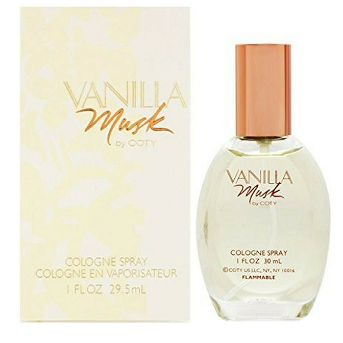 Vanilla Musk Perfume by Coty 1.0oz Cologne spray for Women